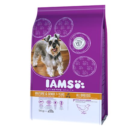 Iams® PROACTIVE HEALTH Mature & Senior mit viel Huhn
